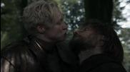 Game of Thrones 3x01 Valar Dohaeris - Jaime and Brienne Clip #3