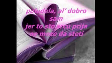 Tanja Savic - Poludela + prevod i tekst