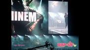 Еминем изпълнява Loose Yourself на живо в Los Angelis!
