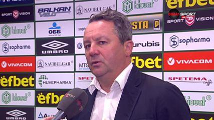 Стоянович: Левски игра футбол, не проумявам продължението на мача