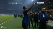 Интер - Рома 5:3 (всички голове) / Inter vs. Roma 5 - 3 (all goals) Calcio Serie A 06.02.2011 Hq