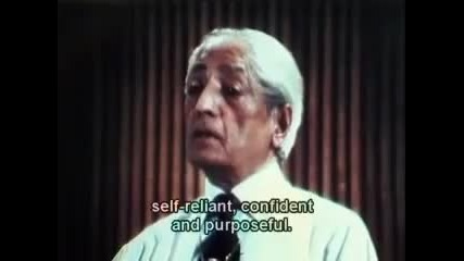 J. Krishnamurti 1970 Public Talk Part 1 of 6