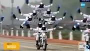 Хореография на две гуми: Впечатляващи демонстрации с мотори