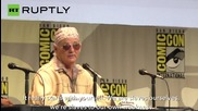 Bill Murray Discusses Slavery at Comic Con