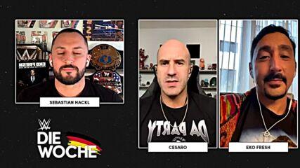 Cesaro & Eko Fresh im Interview bei WWE – Die Woche