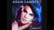 New! Adam Lambert - Whataya Want From Me