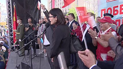 Russia: Cuban Five participate in Moscow V-Day celebrations