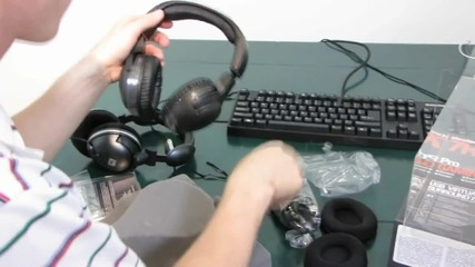 Steelseries 7h Usb Premium Quality Gaming & Music Headset Unboxing & First Look Linus Tech Tips
