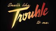 Iggy Azalea - Trouble feat. Jennifer Hudson ( Lyric Video )