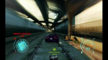 Nfs Undercover - Как се троши кола и гонка с полицаи + Trainer