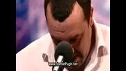 Мъж остава журито безмълвни Britains Got Talent 2009 (превод)
