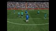 2 Гола на Fifa 11 Срещу Барселона