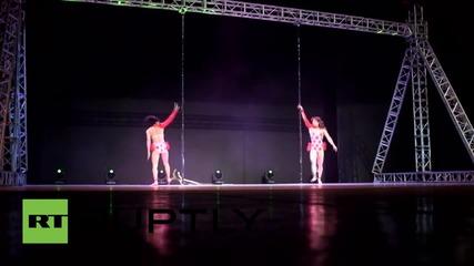 Световното първенство по pole dance в Пекин