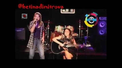 Изцяло на живо ! Never say never - Бетина и Деница - Justin Bieber