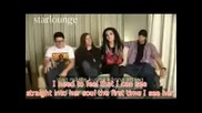 Tokio Hotel - interview Eng Sub tattoos и още нещо... :)