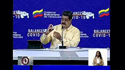 Venezuela: Maduro unveils 'miraculous drops' that allegedly 'neutralise' COVID-19