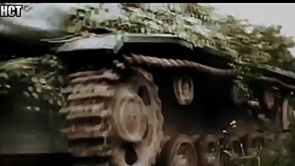 Wehrmacht in combat - Rare footage in colour