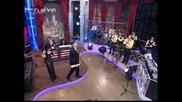 Тони Стораро и Теодора в Шоуто на Иван и Андрей 09.02.2010