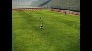 Pes 2010 - Късметлийски гол на тренировка