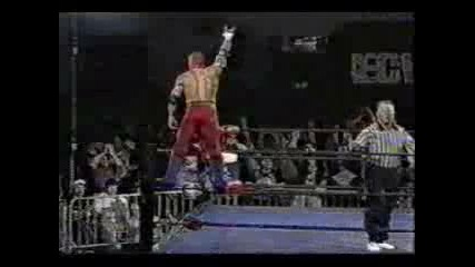 full match Rey Mysterio Jr vs Juventud Guerrera ecw 94