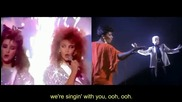 Annie Lennox & Aretha Franklin & Kylie & Dannii Minogue - Sisters Are Doing It For Themselves - Hd