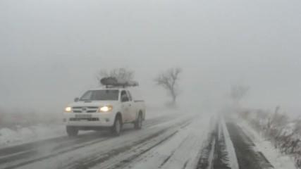 По пътя през зимата