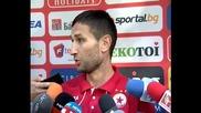 Тунчев си пожела титлата с ЦСКА през следващата година