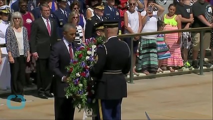 Obama Marks Milestone During Seventh Memorial Day Ceremony at Arlington
