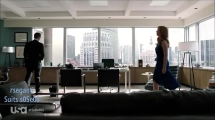 Suits s05e03 Harvey and Donna