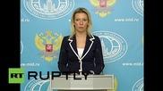Russia: Foreign Ministry slam UK's 'shocking' conduct over Sinai plane crash info