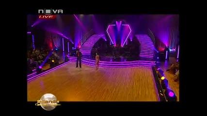 Росица Карджова и Христо Калоферов - танцуват - Ча, Ча, Ча - Байландо