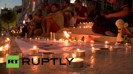 Turkey: Istanbul remembers Suruc victims, decries gov. attack on PKK members