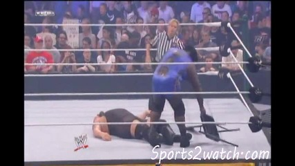 Wwe Money In The Bank 2011 Mark Henry Vs Big Show Hd