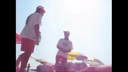 Romi prodavat carevica na plaja v Sozopol 2009