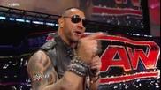 Raw 01/03/10 Batista и причината за действията му върху John Cena