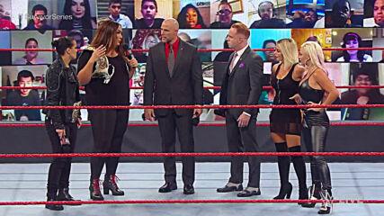 Raw's Survivor Series Women's Team is revealed: Raw, Oct. 26, 2020