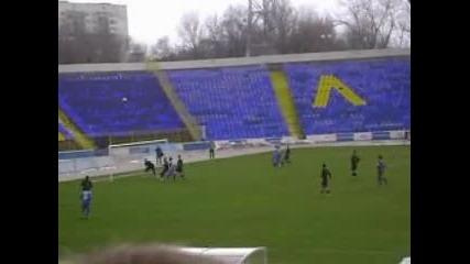 Контролна среща * Левски - Локомотив Мездра 1:0 *откъси от Целия мач 20.02.2010