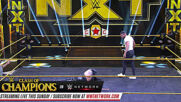 Johnny Gargano attacks Damian Priest after his victory: NXT Takeoff to TakeOver, Sept. 23, 2020