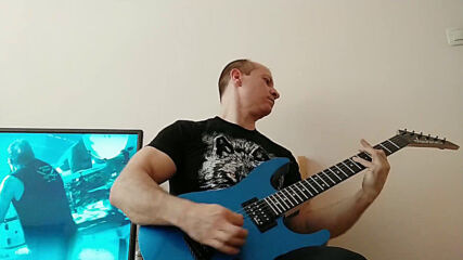 Oki Guitar Player-waiting For The Thunder (helloween cover)