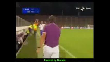 Фиорентина 2 - 0 Славия Прага