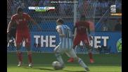 Аржентина 1:0 Иран (бг ауди) Мондиал 2014