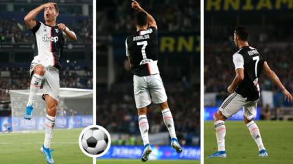 Защо Роналдо празнува головете си по един характерен начин! Но защо?