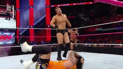 The Usos vs The Miz and Damien Mizdow - Raw 27.10.14