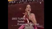 Всички Победители От Евровизия 1956 - 2007 Част 2