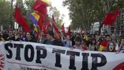 Spain: Thousands rally against TTIP and CETA in Madrid