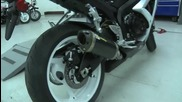2008 Suzuki Gsx - R600 with Two Brothers Exhaust