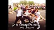Забавни моменти с One Direction!