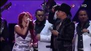 Dulce Maria & Julion Alvarez - Lagrimas (на живо)