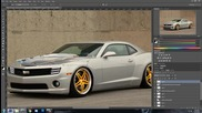 Photoshop Cs6 | Virtual Car Tuning | Chevrolet Camaro Ss #1