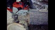 056 Av Stihl Chainsaw Crosscut